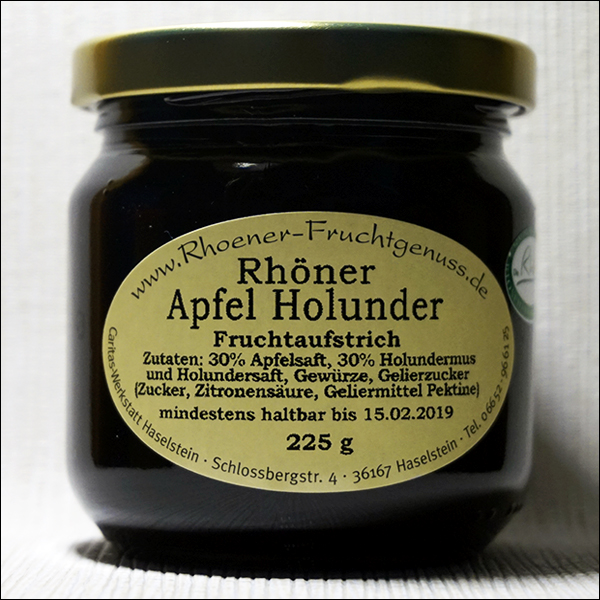 Rhöner Apfel Holunder