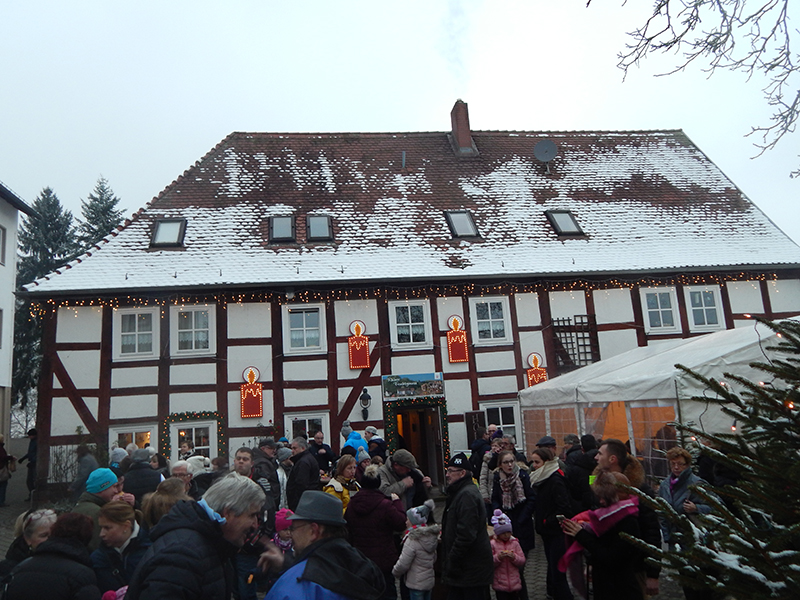 Adventszauber im Schloss Haselstein
