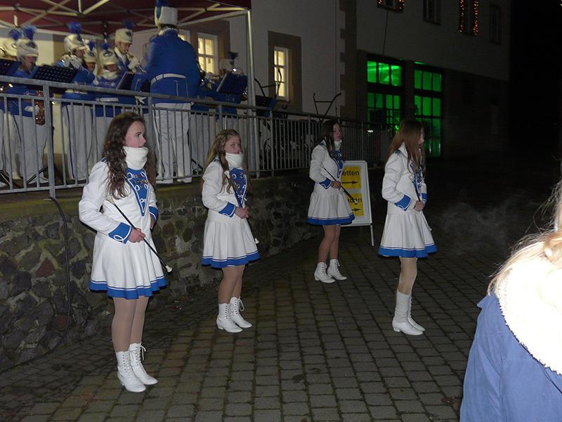 Musikzug Eiterfeld/Arzell unter der Leitung von Alfred Lange