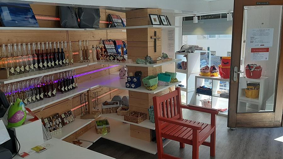 Endlich – Caritas-Laden am Dom ab Dienstag – wieder geöffnet